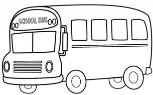 Free School Bus Coloring Pages 18fg13