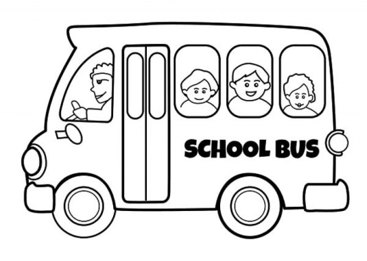 Free School Bus Coloring Pages to Print v5qom