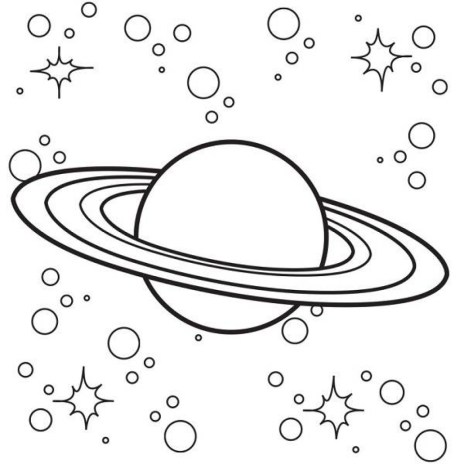 Free Space Coloring Pages t29m16