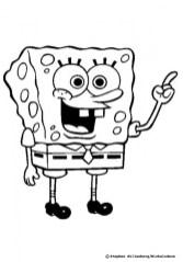 Free Spongebob Squarepants Coloring Pages 18fg15
