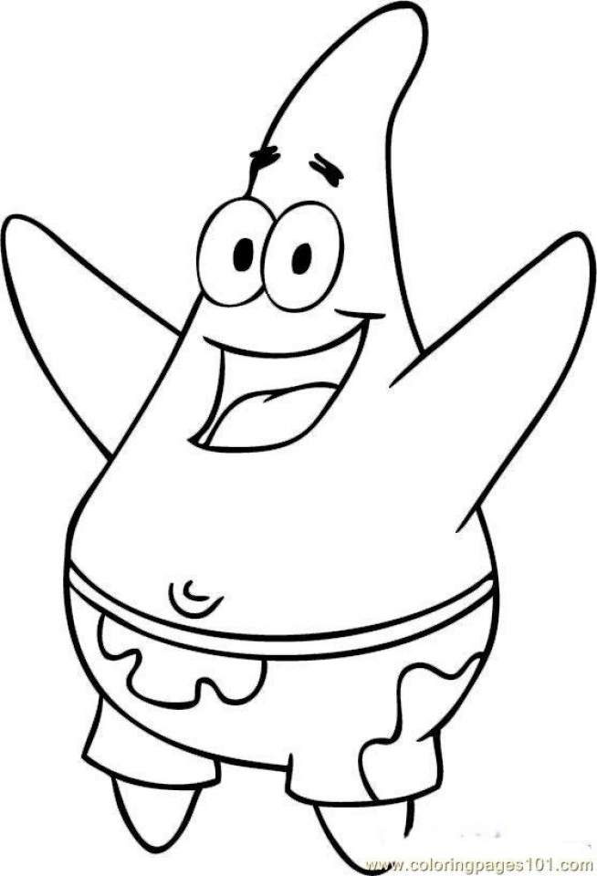 Free Spongebob Squarepants Coloring Pages to Print   6pyax