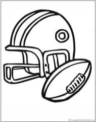 Free Sports Coloring Pages to Print GDNB13
