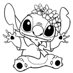 Free Stitch Coloring Pages 9tf1q