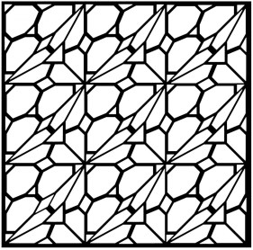 Free Tessellation Coloring Pages for Grown Ups 21857