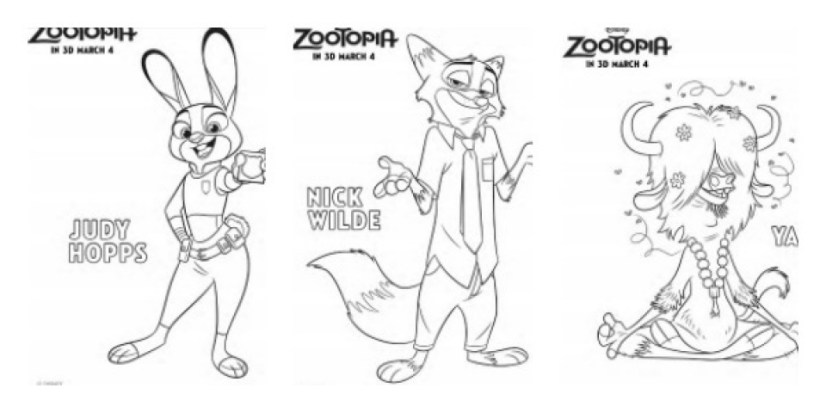 Free Zootopia Coloring Pages to Print 924311