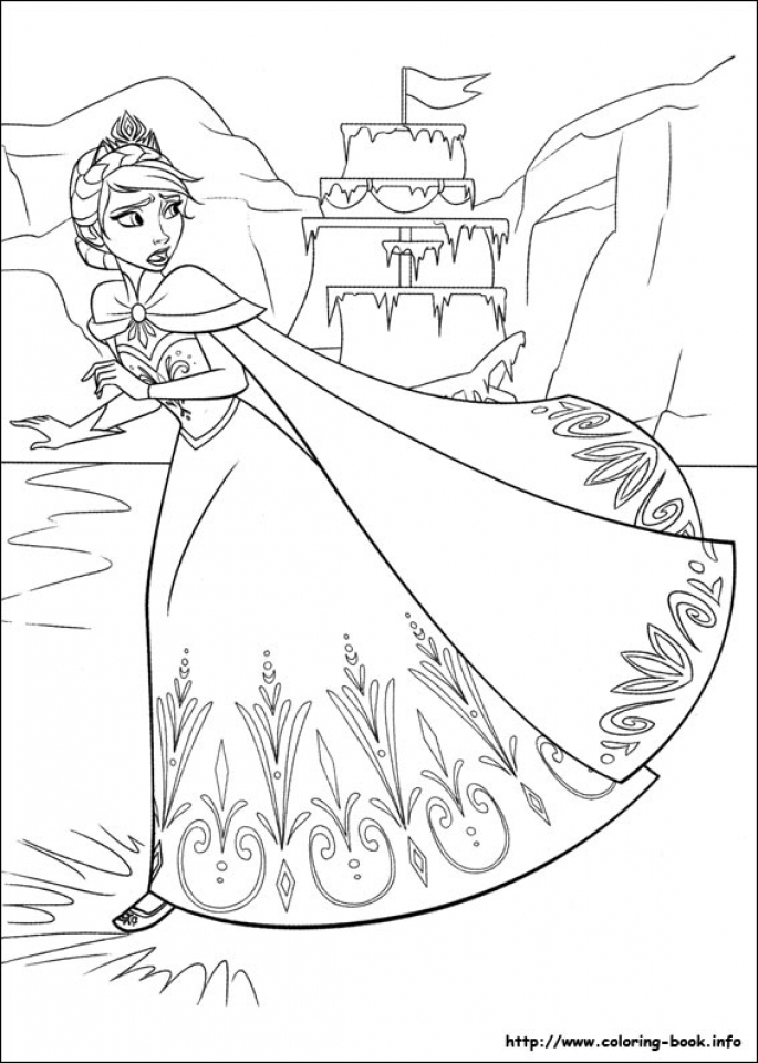 Frozen Coloring Pages Free Printable   655767
