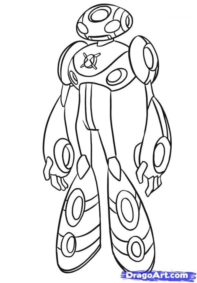 Online Ben 10 Coloring Pages   f8shy