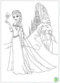 Online Frozen Coloring Pages 358893
