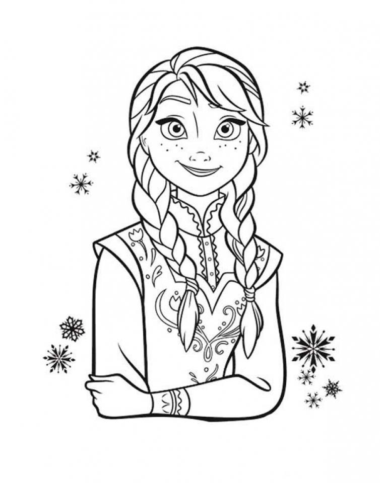 Online Frozen Coloring Pages   883942