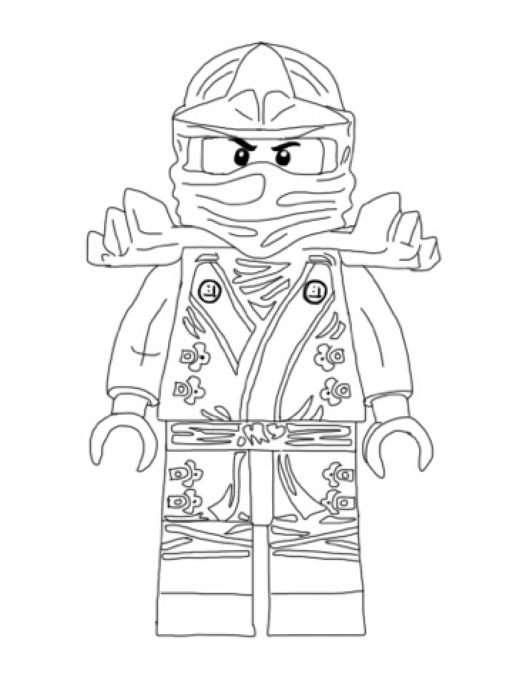 Online Lego Ninjago Coloring Pages   569681