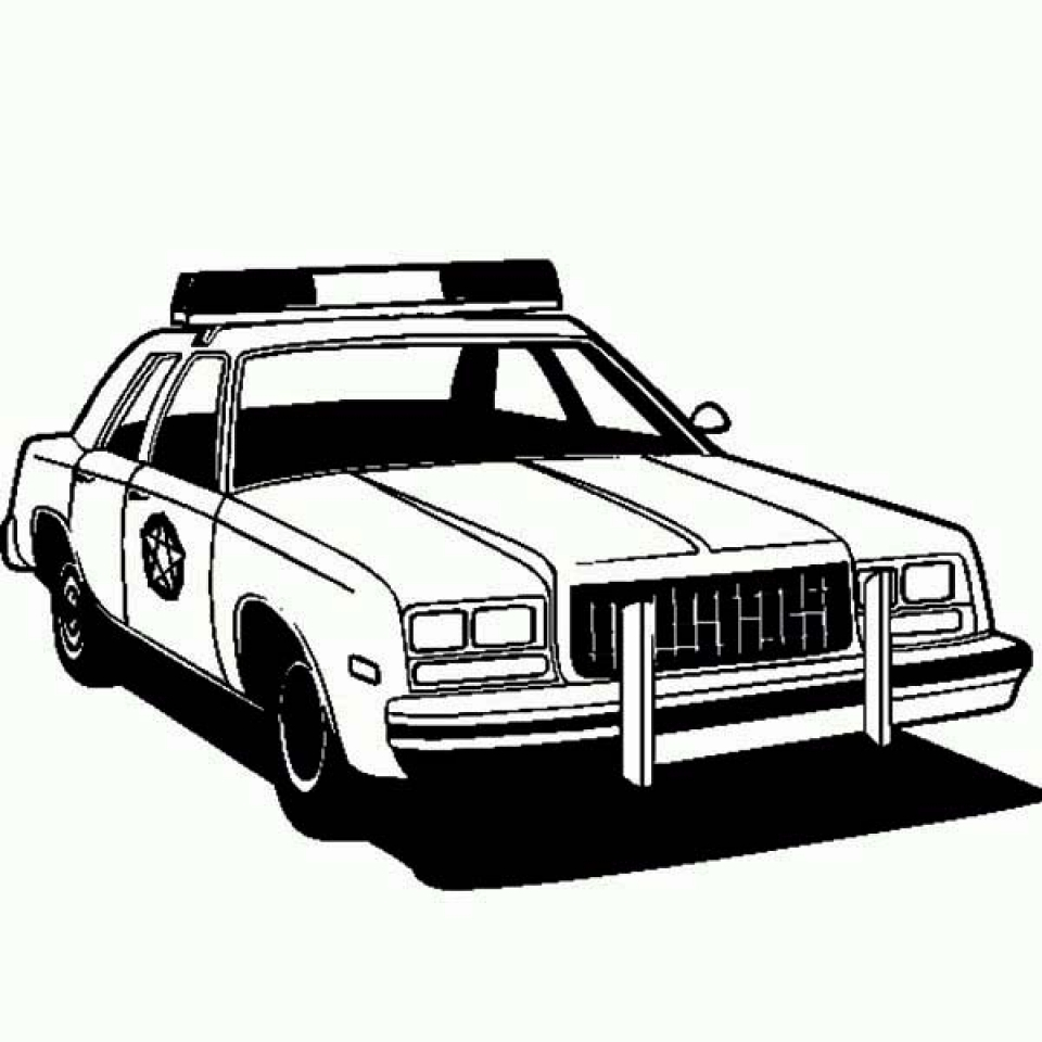 - 20+ Free Printable Police Car Coloring Pages - EverFreeColoring.com