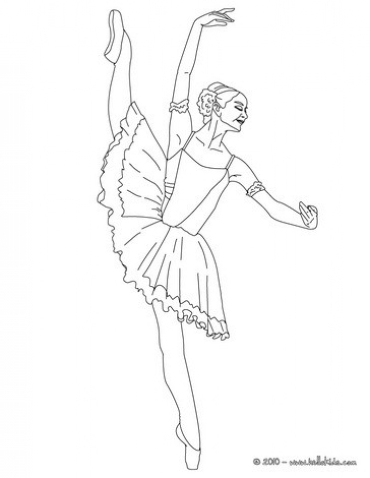 Princess Balerina Coloring Pages   338721