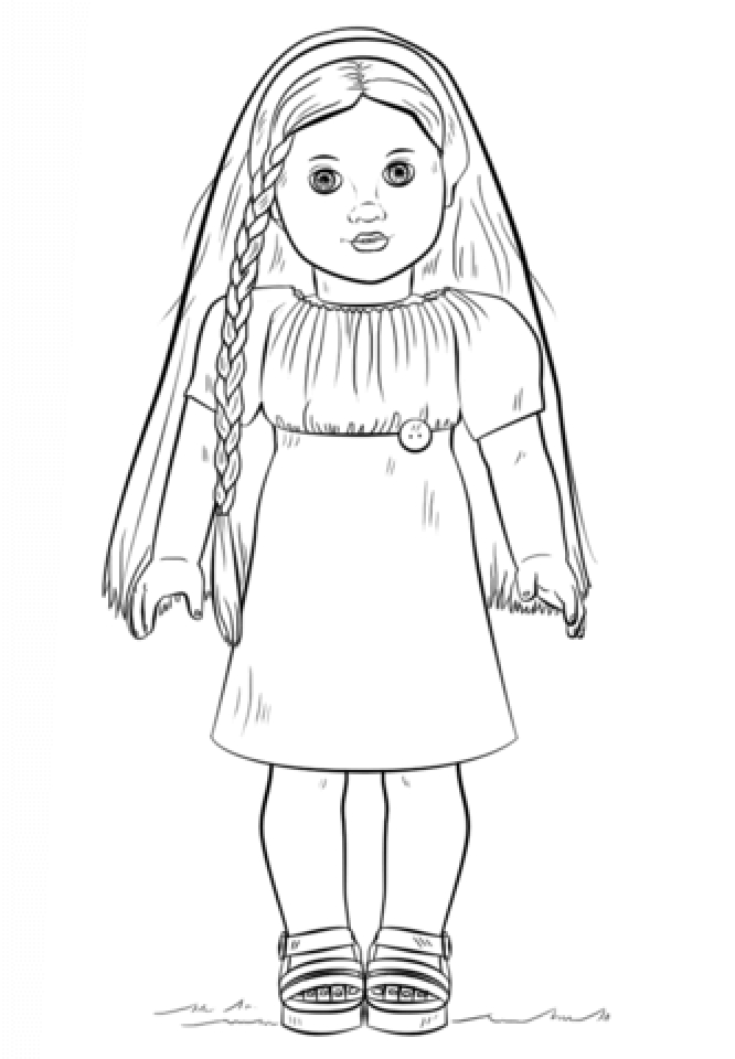 Printable American Girl Coloring Pages   p79hb