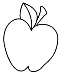Printable Apple Coloring Pages Online 4auxs