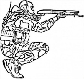 Printable Army Coloring Pages Online vu6h24