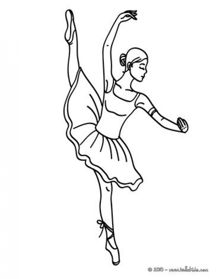 Printable Ballerina Coloring Pages   p79hb