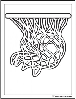 Printable Basketball Coloring Pages 952214