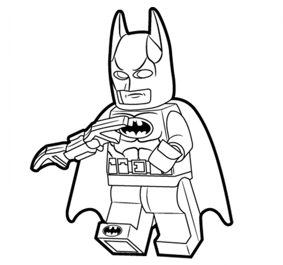 Get This Printable Batman Coloring Pages 811910