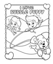 Printable Bubble Guppies Coloring Pages 952204