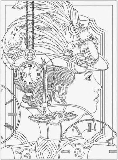 Printable Complex Coloring Pages for Grown Ups Free WBCU4