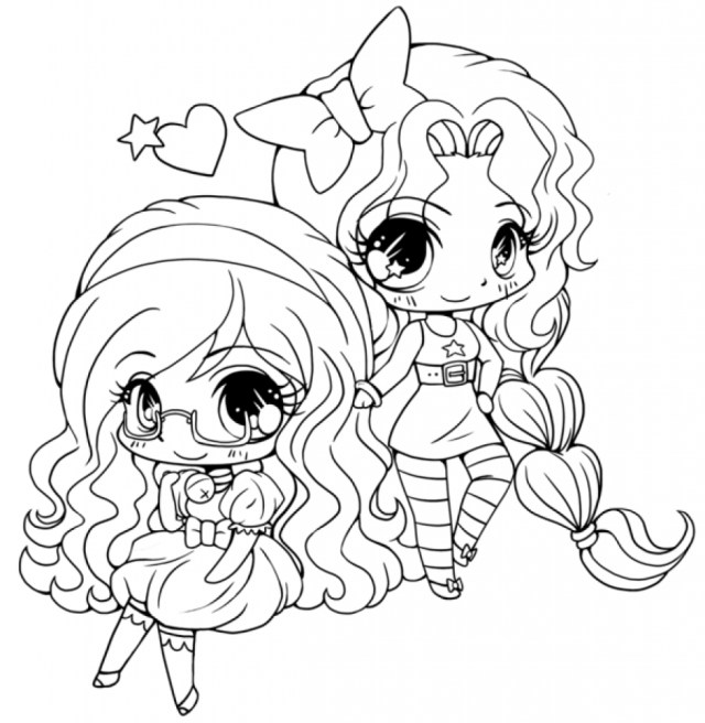 Adorable printable coloring pages