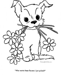 Printable Cute Coloring Pages for Preschoolers 94VG7