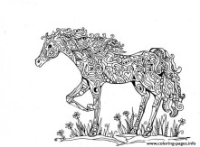 Printable Difficult Animals Coloring Pages for Adults DTY432