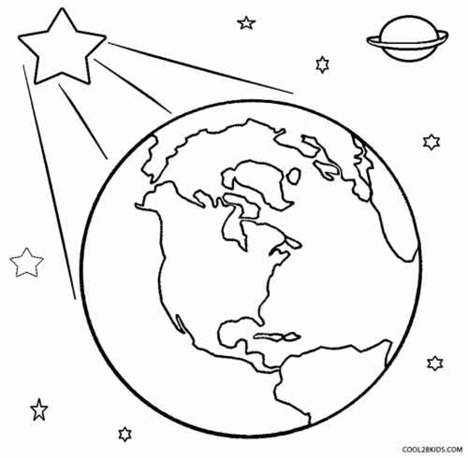 Printable Earth Coloring Pages   dqfk12