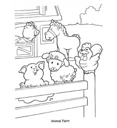 Printable Farm Coloring Pages Online 9MYA9