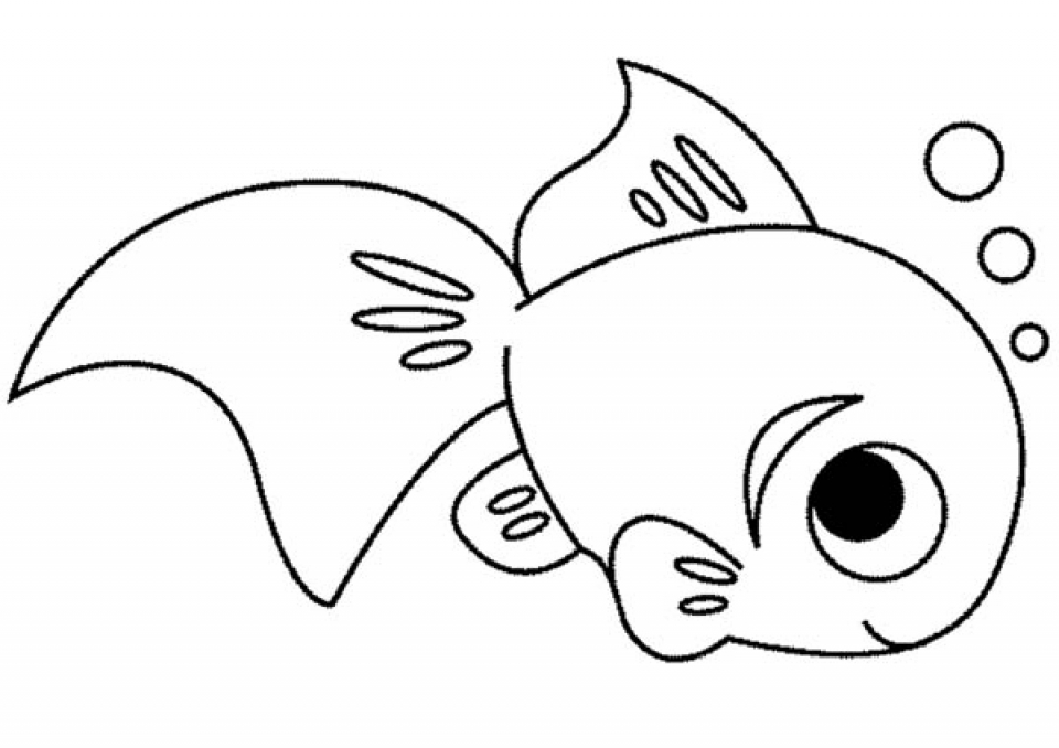 Get This Printable Fish Coloring Pages 810607
