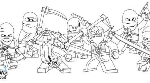 Printable Lego Ninjago Coloring Pages 952210