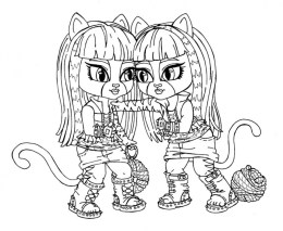 Printable Monster High Coloring Pages Online 106093