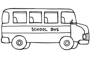 Printable School Bus Coloring Pages dqfk16