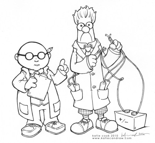 Printable Science Coloring Pages Online gvjp28