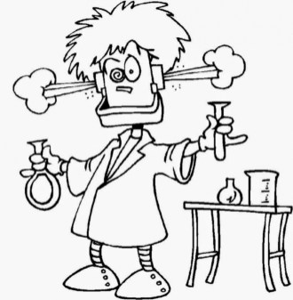 Printable Science Coloring Pages yzost
