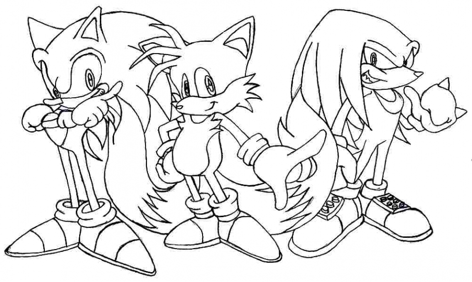 - 20+ Free Printable Sonic The Hedgehog Coloring Pages - EverFreeColoring.com