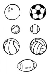 Printable Sports Coloring Pages Online 9MYA13