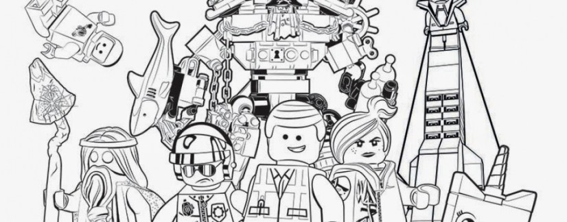 Printable The Lego Movie Coloring Pages Online 735301