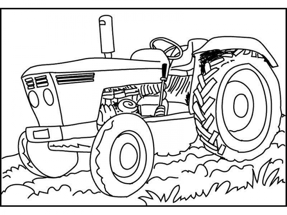 - 20+ Free Printable Tractor Coloring Pages - EverFreeColoring.com