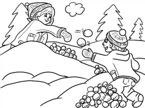 Printable Winter Coloring Pages Online 387827