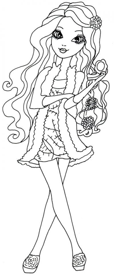 Royal Rebels Ever After High Girl Coloring Pages Printable   KDA64