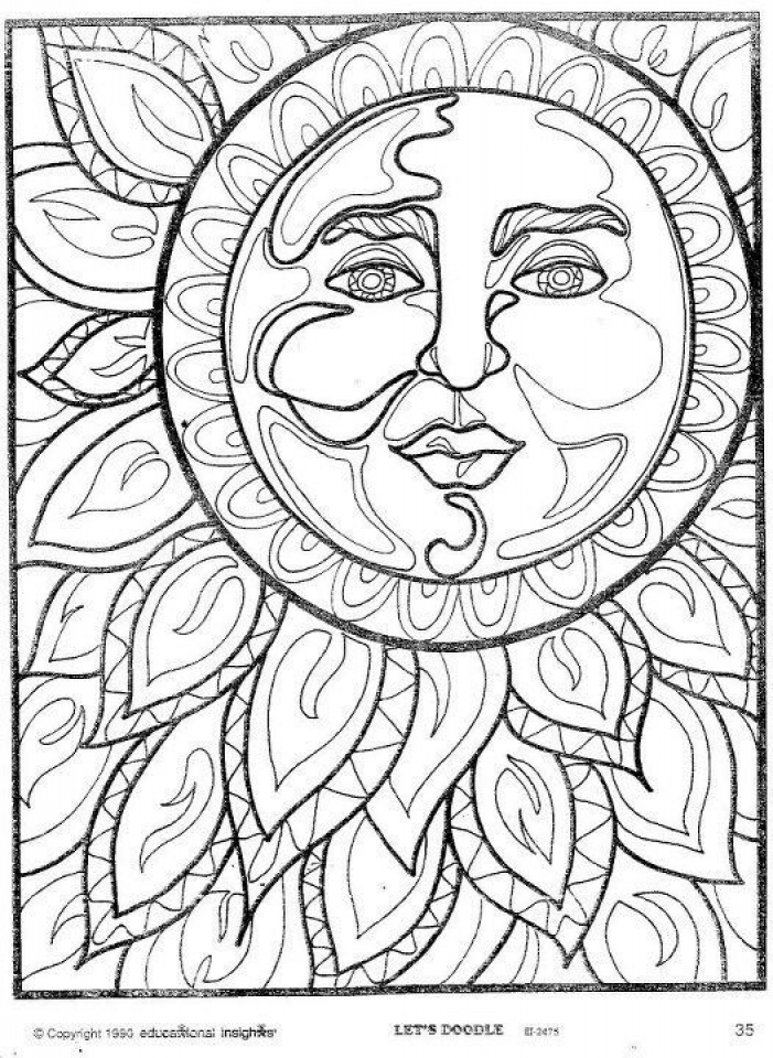 Space Coloring Pages Adults Printable   UDC17