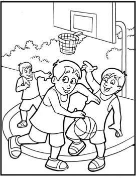 Sports Coloring Pages Free Printable 7F8R5
