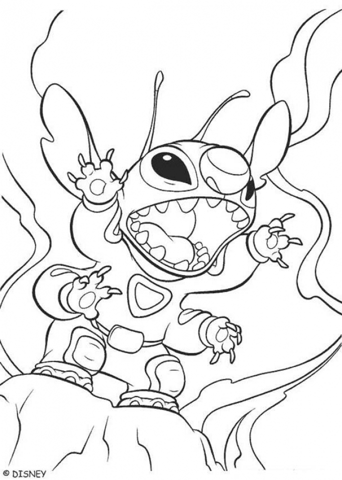 Stitch Coloring Pages Free Printable q8ix21