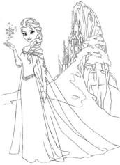Disney Princess Elsa Coloring Pages Free to Print 21vxy