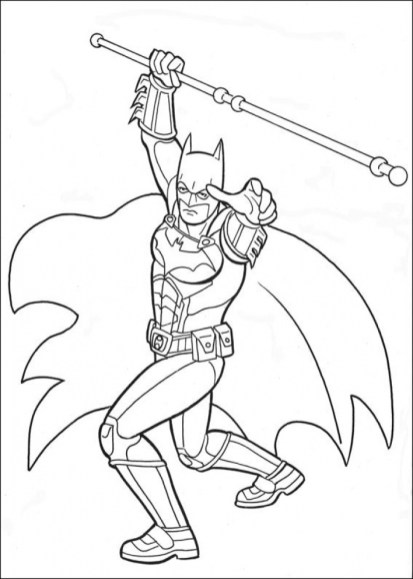 Free Printable Batman Coloring Pages DC Superhero 21784