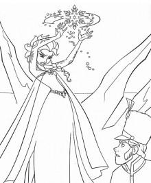Free Printable Queen Elsa Coloring Pages Disney Frozen 5218ct