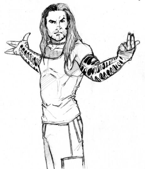 Jeff Hardy Coloring Pages Printable 1CHW8