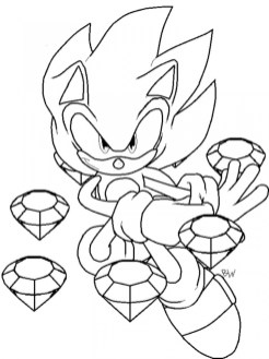 Online Printable Sonic Coloring Pages for Kids 83517