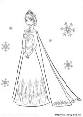 Princess Elsa Coloring Pages 17215